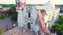 Drone reveals Mexico quake aftermath