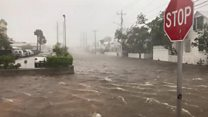 Irma hits Florida islands