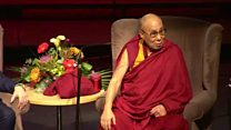 Dalai Lama peace plea during NI visit