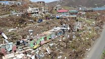 Devastation and defiance on Tortola