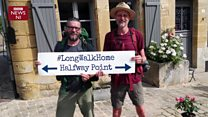 NI man walks 2,500 km from Alps to Armagh