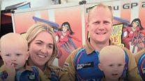 TT crash racer's partner backs races