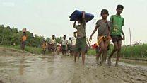 Qaxa Muslimiinta Rohingya oo dhaawacay sumacadda Aung San Suu Kyi