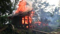 Arakan'daki Müslüman köylerini kim yakıyor?