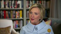 Hillary Clinton 'did make history'