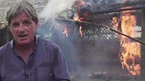 कौन जला रहा है रोहिंग्या मुसलमानों के गांव?