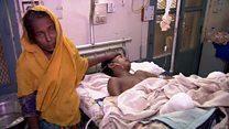 罗兴亚伤者 孟加拉医院应接不暇