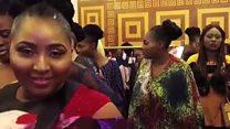 नाइजीरिया में चल रहा है प्लस साइज़ फ़ैशन वीक इवेंट