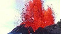 بالفيديو: بركان كيلويا الأكثر نشاطا فى العالم