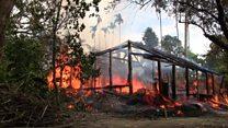 谁把罗兴亚人的村庄烧掉了?