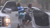 Los saquedaores de Irma en Miami