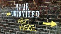 Graffiti group critical of Luton arts