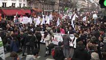 En France, Macron face à première grogne sociale