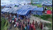 Melihat kamp pengungsi Rohingya di Roikhong