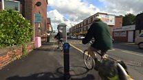 Bus stop in cycle lane 'a joke'