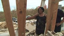 Praying for recovery in Caribbean