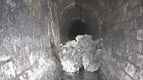 'Iceberg de gordura' de 130 toneladas é encontrado nos esgotos de Londres