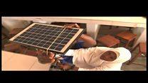Wanafunzi waunda jembe linalotumia sola Tanzania