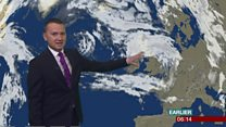 Storm Aileen brings strong winds to UK