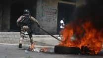 Violent protests in Haiti over taxes