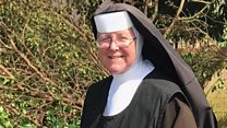 Chainsaw nun takes internet by storm