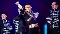 Quand le patron d'Alibaba Jack Ma se met à la danse
