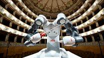 YuMi: le robot chef d'orchestre