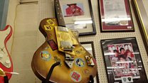 """First guitar played by Jimi Hendrix in the UK"" up for auction"