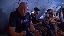 """Би-би-си на """"экскурсии"""" по Сирии с российскими военными"""