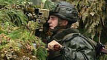 Belarus troops in Russian war games