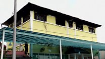 Deadly dormitory fire in Malaysia