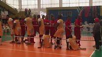 Maroc yatsinze iya Afrika y'epfo seti 3-0