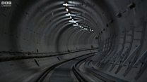 Watch: Crossrail track completed
