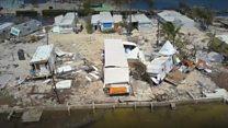 Drone video shows Florida Keys devastation