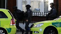Explosion reports on London Tube train