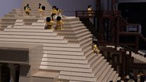 Wonders of the World made in Lego