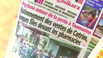 Résurgence de la peste pulmonaire à Madagascar