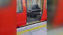 Вибух у лондонському метро: перші кадри