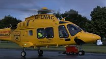 Air ambulance to carry blood