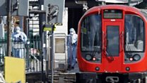 Passenger recalls 'mania' of tube blast