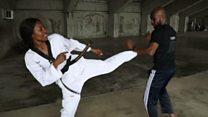لاعبة تايكواندو نيجيرية تتحدى عدم المساواة بين الجنسين