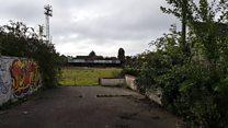 Football ground's 'sad, tearful' demise