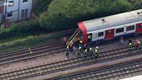 """В лондонском метро произошел взрыв на станции """"Парсонс-грин"""""""