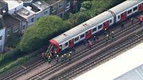 22 زخمی در انفجاری در متروی لندن