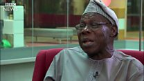 'Biafra no be answer' - Obasanjo