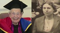Woman, 103, gets honorary degree