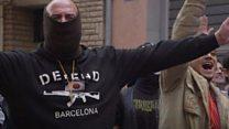"""""""تظاهرة ضد المساجد"""" في برشلونة"""