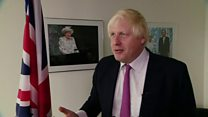 Johnson defends Brexit vision article