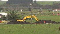 Burst pipeline disrupts Auckland Airport