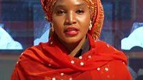 Amina Yuguda watsindiye igihembo cya BBC cyitiriwe Komla Dumor